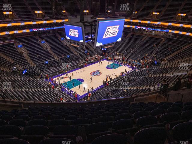 Vivint Smart Home Arena Section 117 view