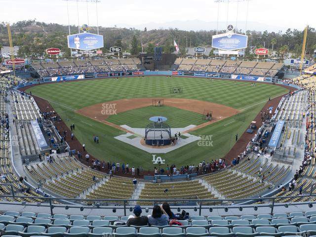Dodger Stadium Reserve 1 view