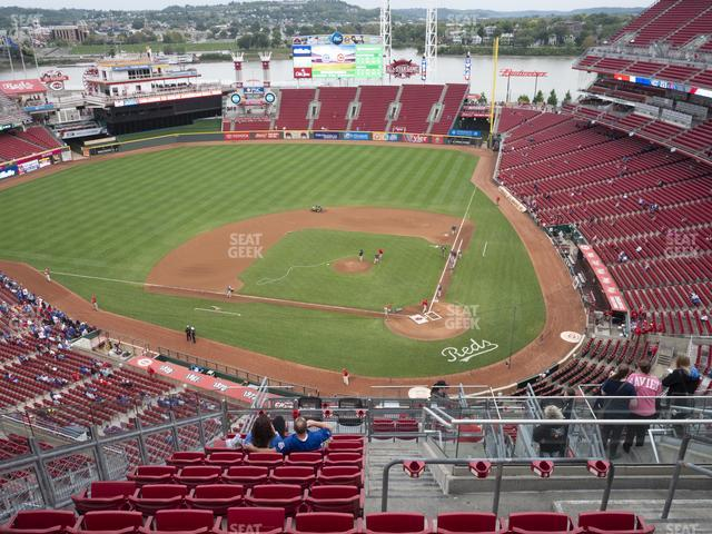 Great American Ball Park Section 520 view