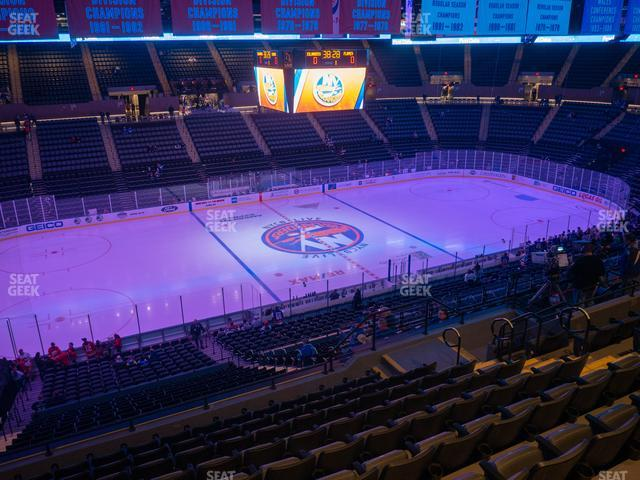 Nassau Veterans Memorial Coliseum Section 225 view