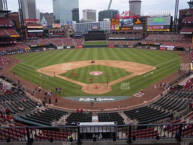 Busch Stadium Home Redbird Club 250 view