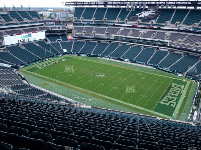Lincoln Financial Field Section 229 view