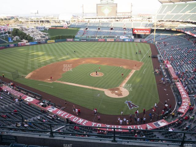 Angel Stadium of Anaheim Section 416 view