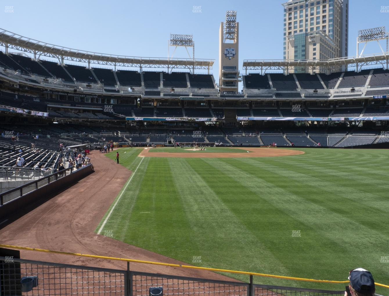 San Diego Padres at Petco Park Section 125 View