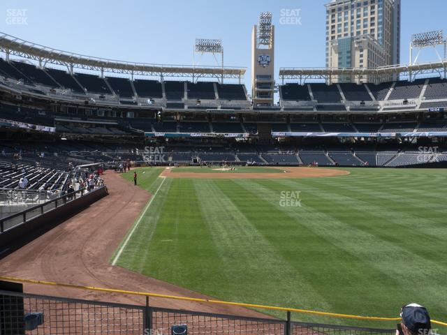 Petco Park Section 125 view