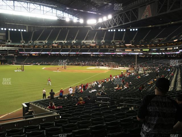 Chase Field Section 136 view