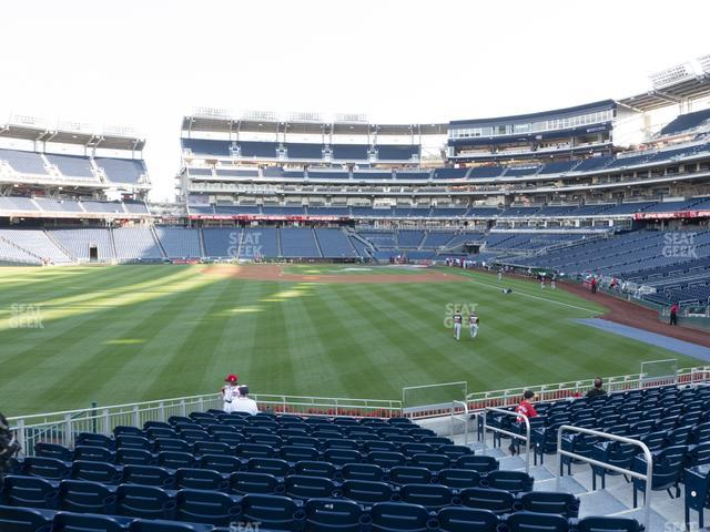 Nationals Park Section 103 view