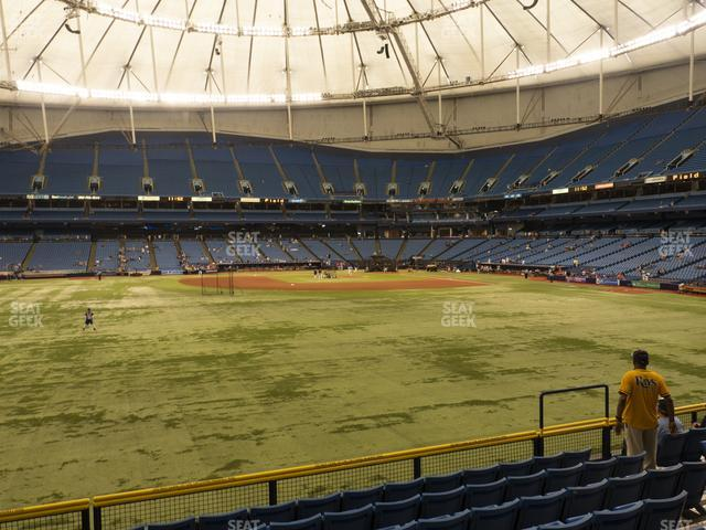 Tropicana Field Section 147 view