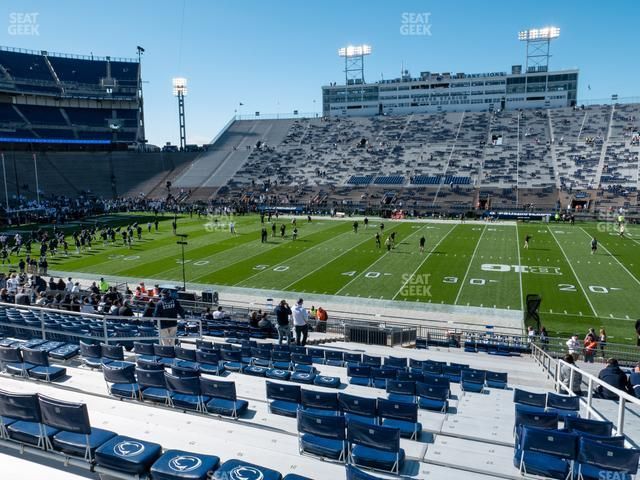 Beaver Stadium Section East G view