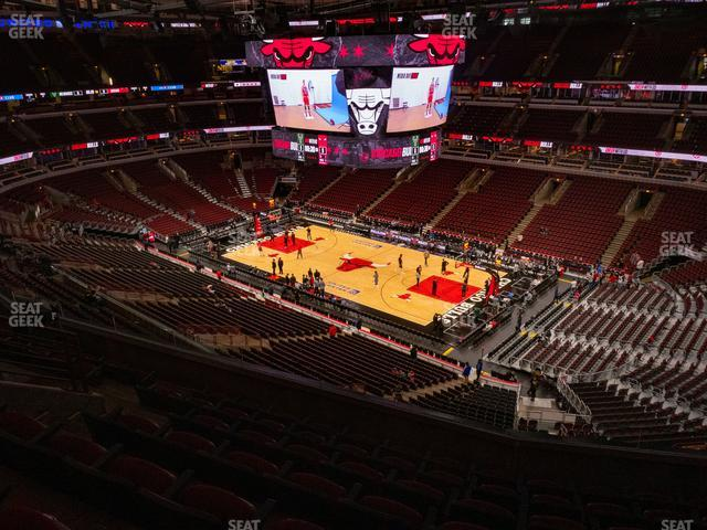 United Center Section 314 view