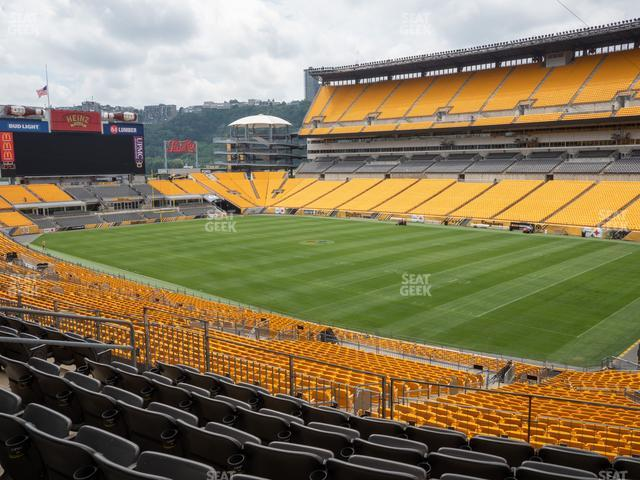 Heinz Field Section 216 view