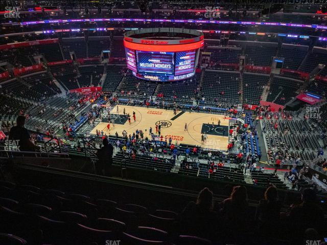 Staples Center Section 334 view