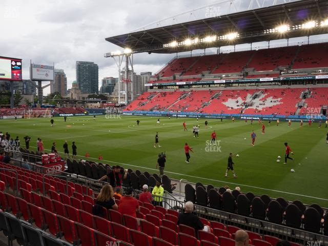 BMO Field Section 121 view