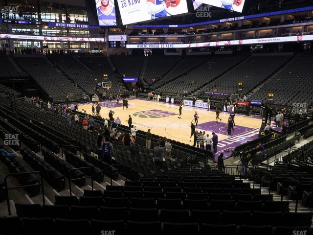 Golden 1 Center Section 117 view