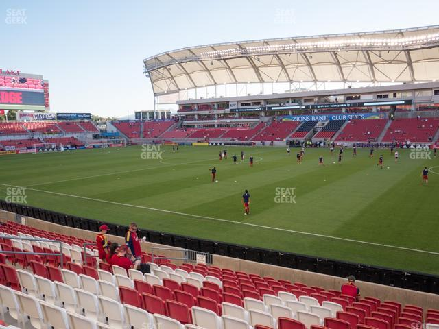 Rio Tinto Stadium Section 35 view