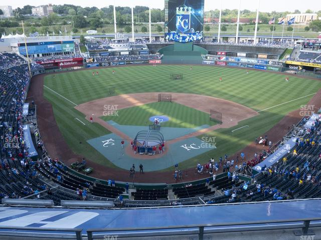Kauffman Stadium Section 421 view