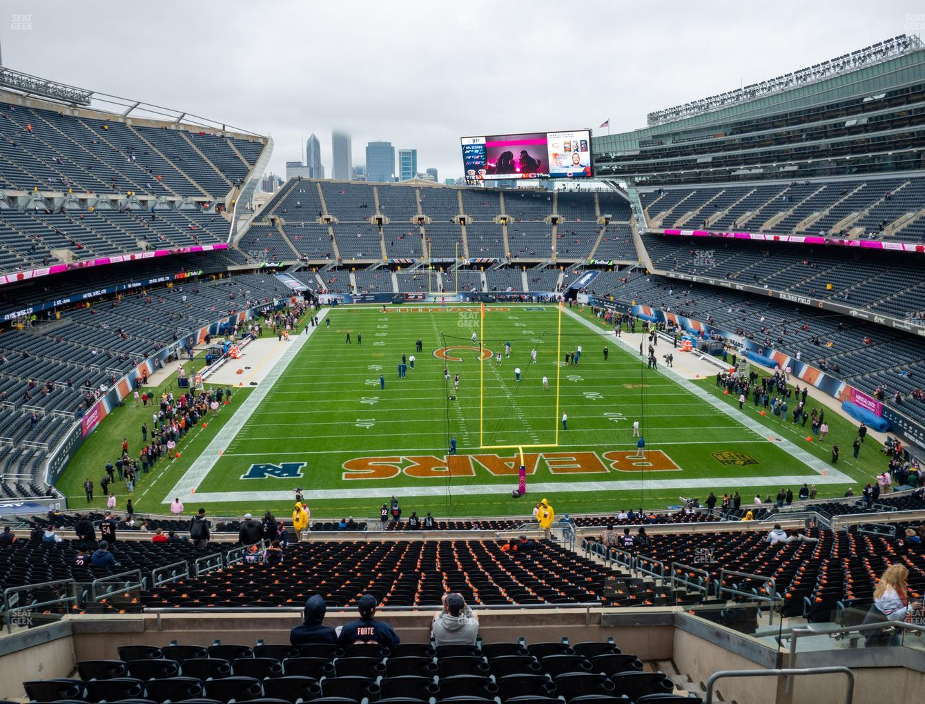 Chicago Bears at Soldier Field Section 323 View