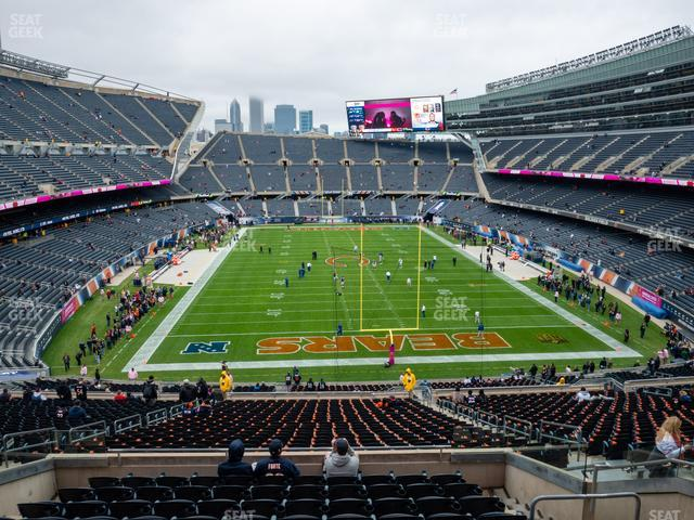 Soldier Field Section 323 view