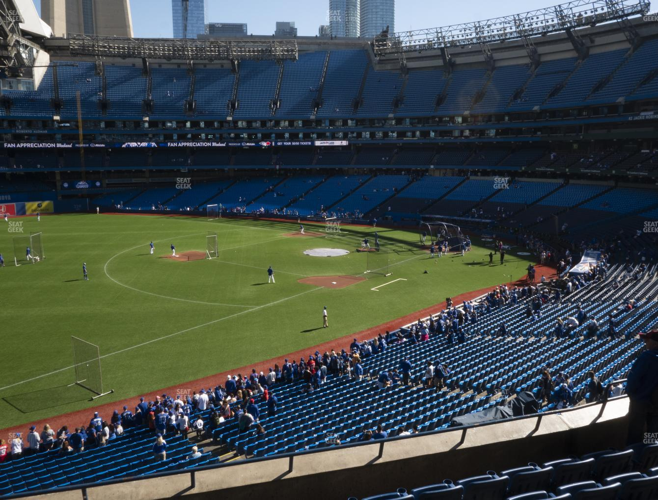 Toronto Blue Jays at Rogers Centre Section 235 R View