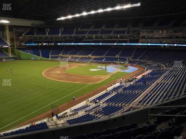 Marlins Park Section 227 view