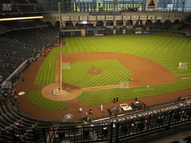 Minute Maid Park Section 323 view