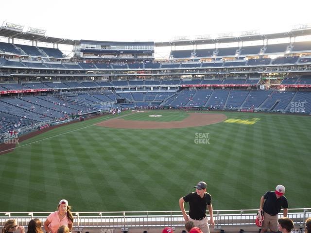 Nationals Park Section 241 view