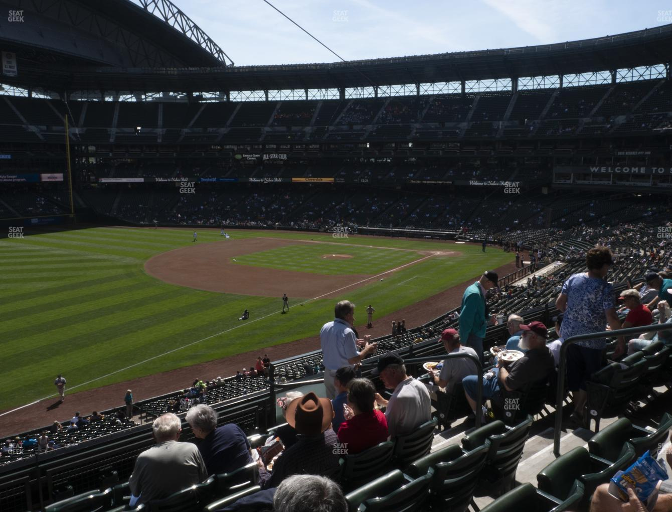 Seattle Mariners at T-Mobile Park Section 246 View