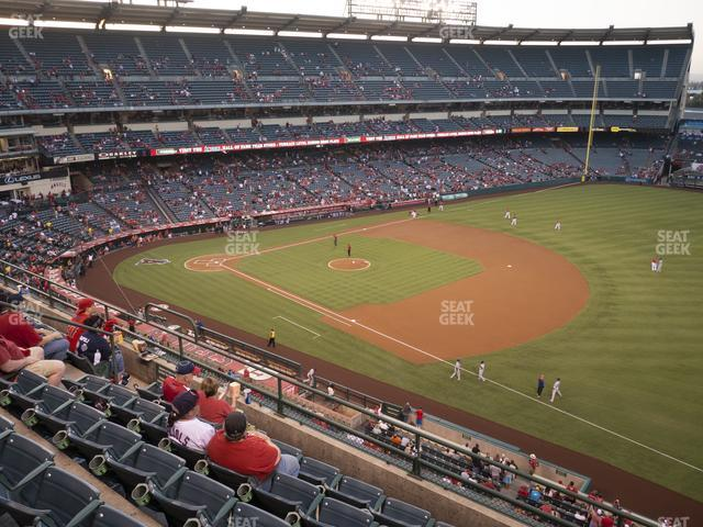 Angel Stadium of Anaheim Section 428 view
