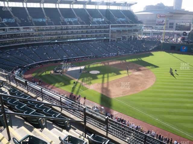 Progressive Field Section 430 view