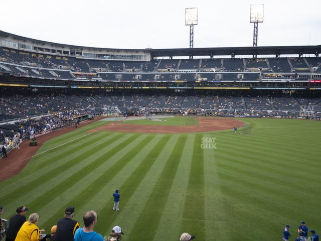 PNC Park Section 143 view