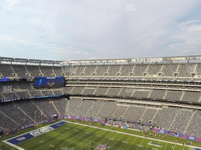 MetLife Stadium Section 335 view