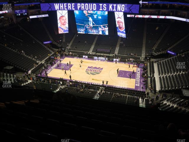 Golden 1 Center Section 217 view