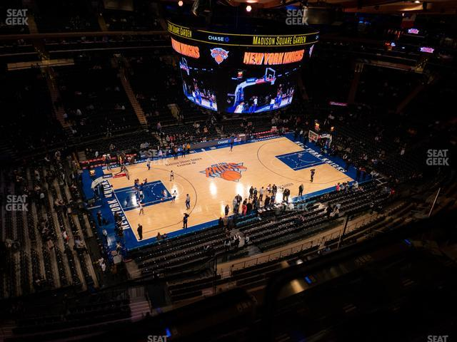 Madison Square Garden Section 325 view