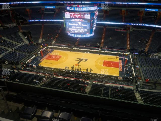 Capital One Arena Section 401 view