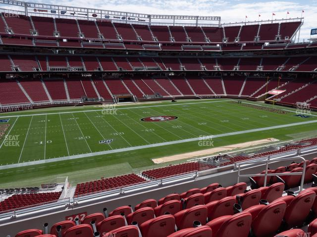 Levi's Stadium Section C 242 view