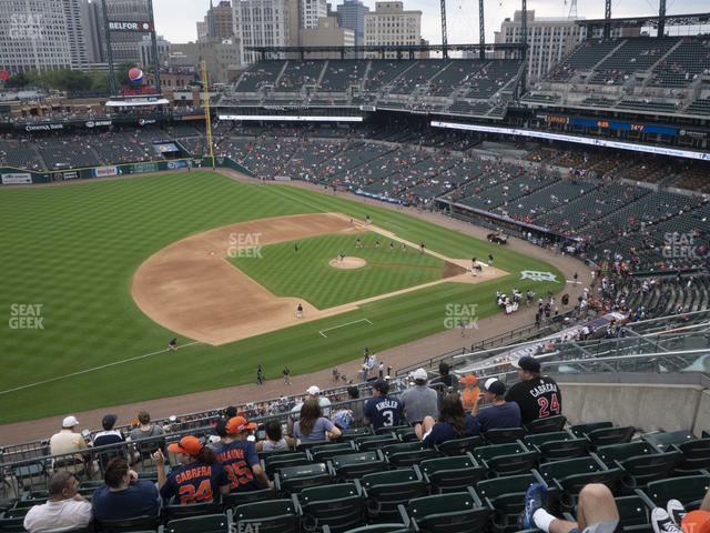 Comerica Park Section 337 view