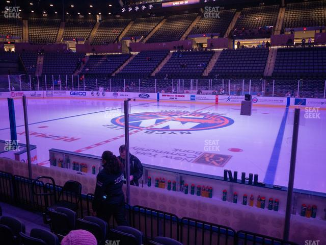 Nassau Veterans Memorial Coliseum Section 16 view