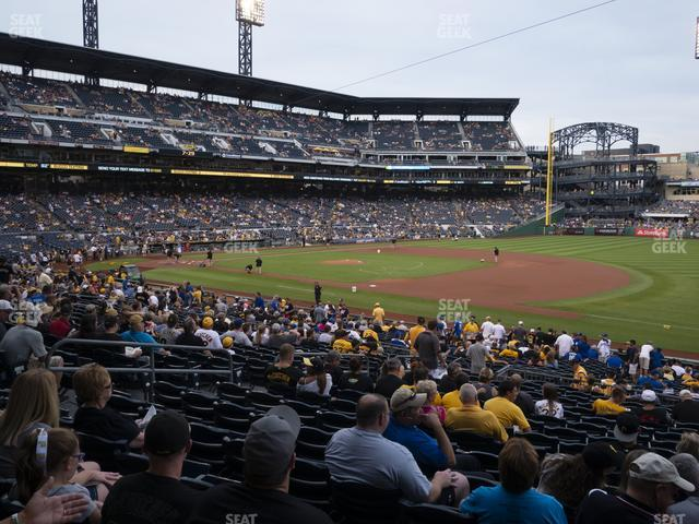 PNC Park Section 107 view