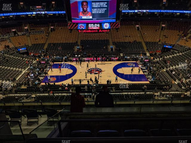Scotiabank Arena Section 309 view