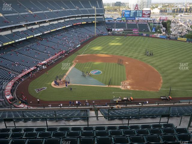 Angel Stadium of Anaheim Section 527 view