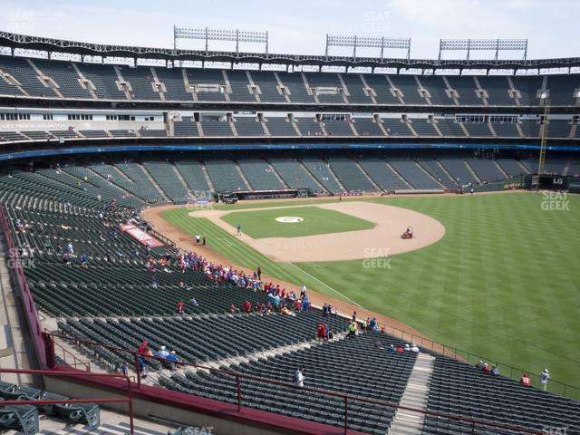 Globe Life Park Section 241 view
