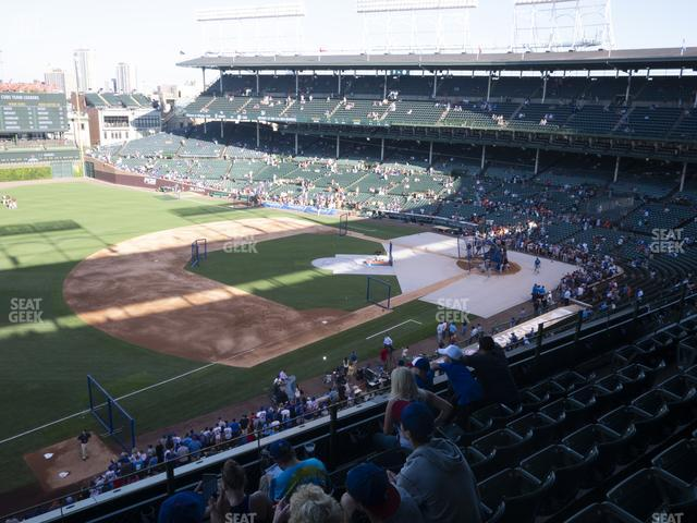 Wrigley Field Section 307 Left view