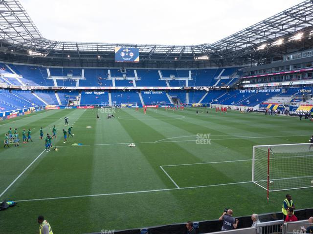 Red Bull Arena Section 119 view