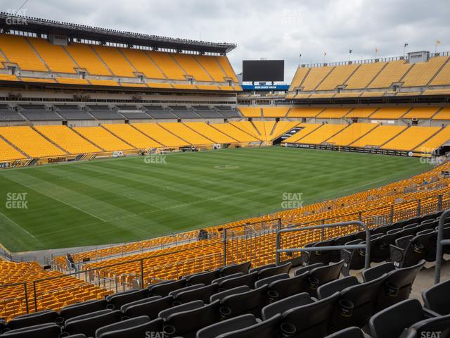 Heinz Field Section 205 view