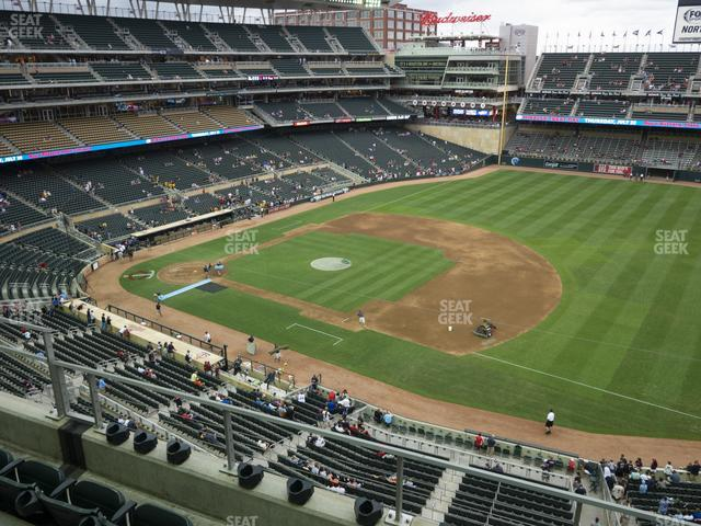 Target Field Section 206 view