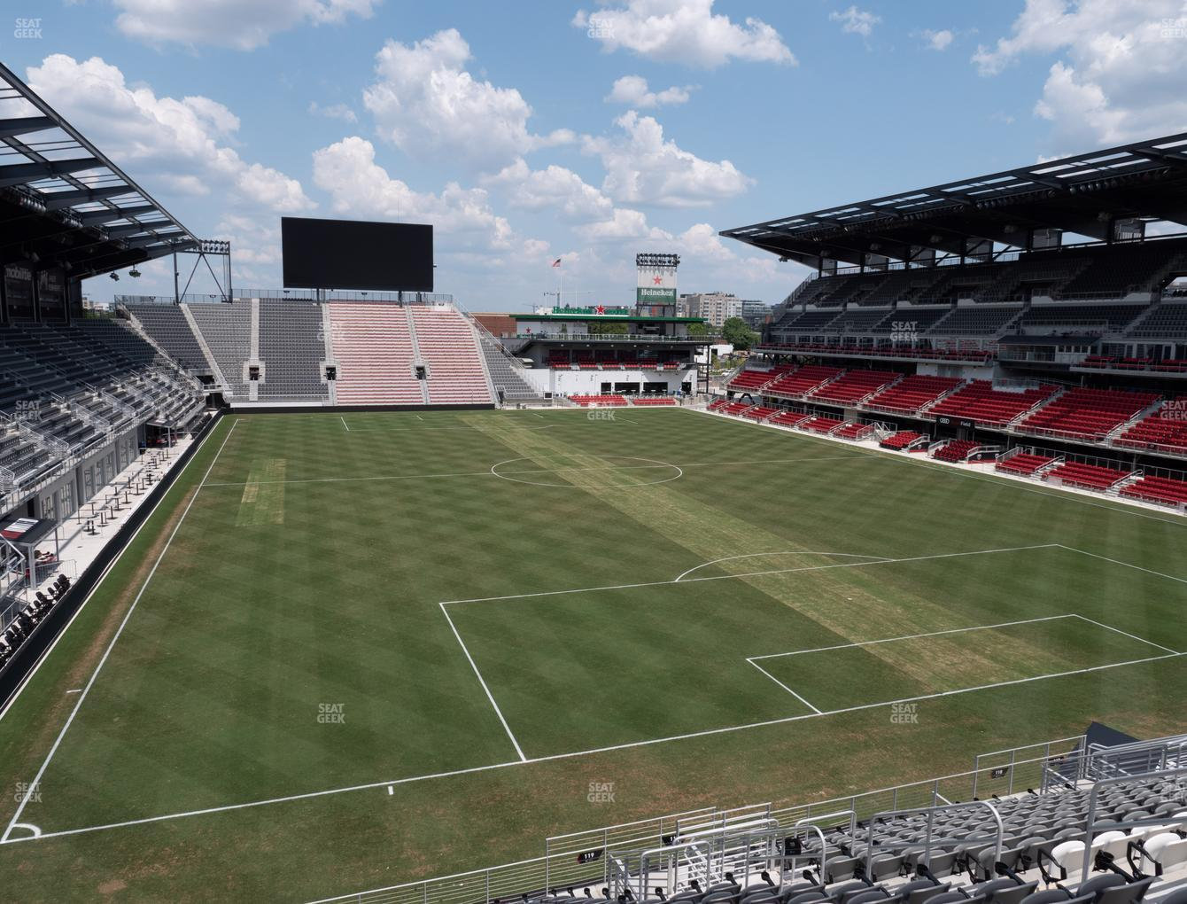 D.C. United at Audi Field Section 119 View