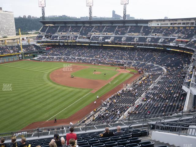 PNC Park Section 332 view
