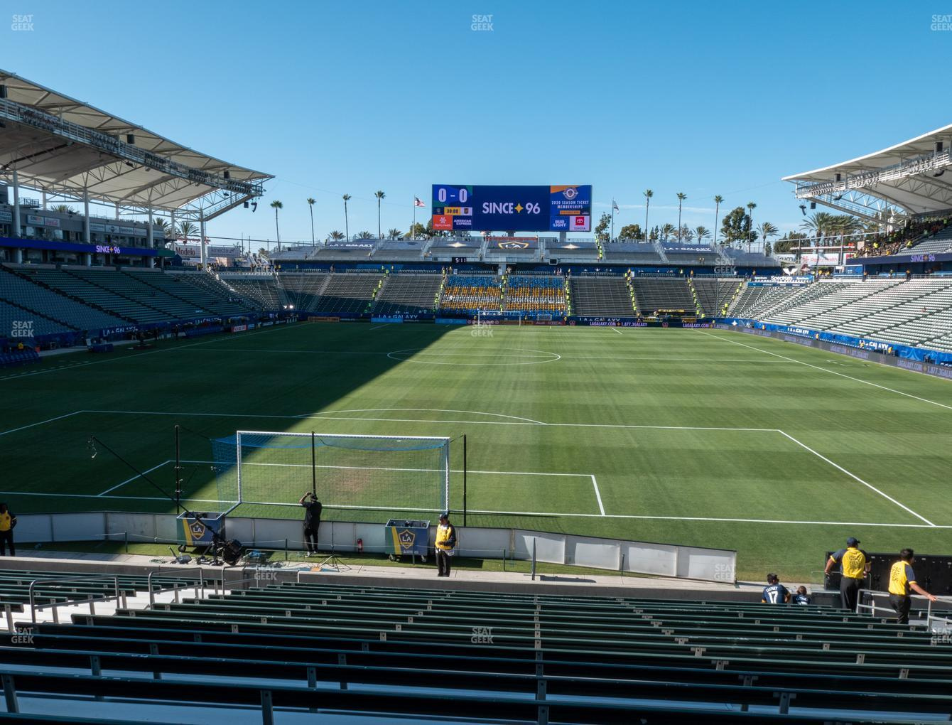 Dignity Health Sports Park Section 142 Seat Views | SeatGeek