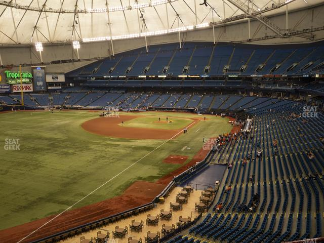 Tropicana Field Section 341 view