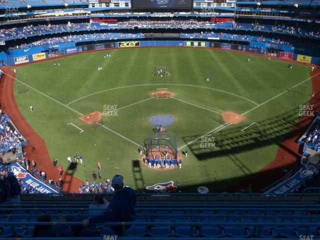 Rogers Centre Section 524 AR view